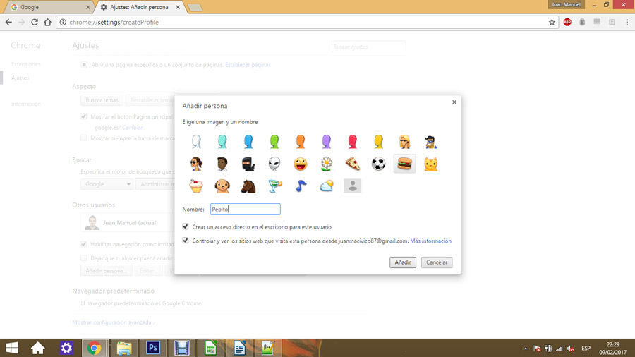 Control parental en Google Chrome 03