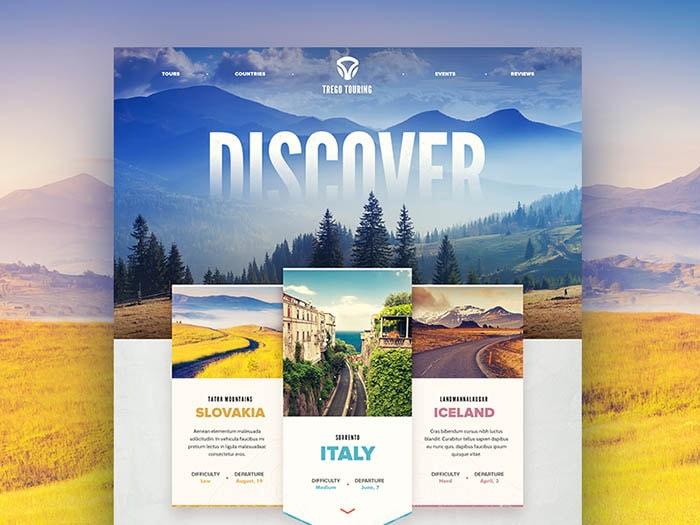 Ejemplo de Diseño Web Complejo
