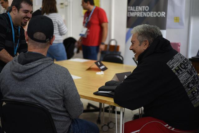Saludando a Fernando Tellado