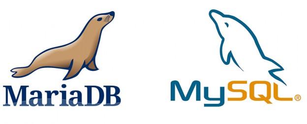 MySQL y MariaDB - Logos